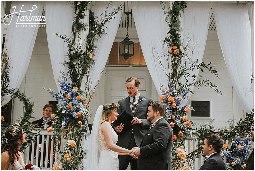 Asheville Barn wedding _0036