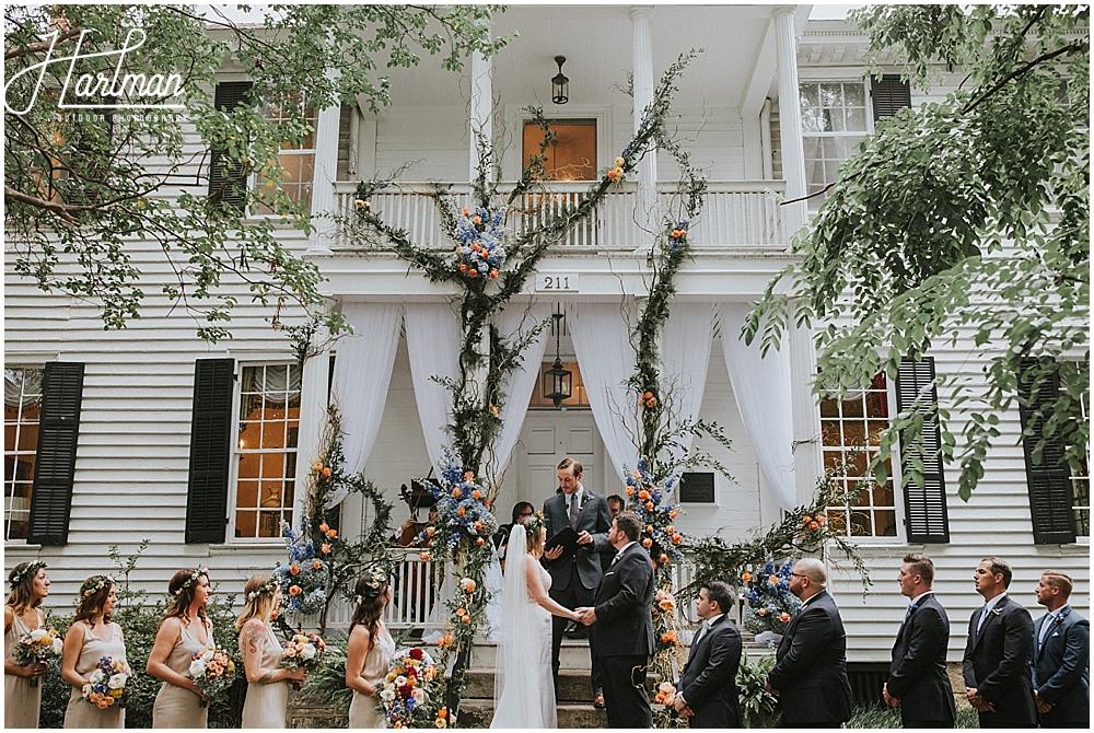 Asheville barn wedding _0040