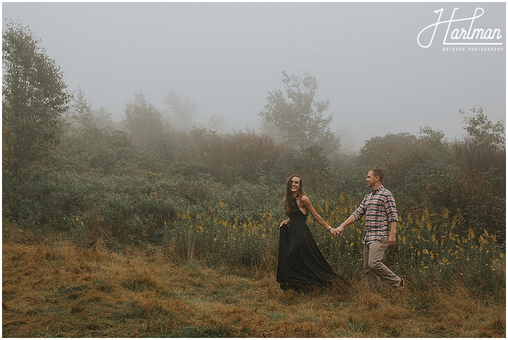 black balsam engagement session _0018