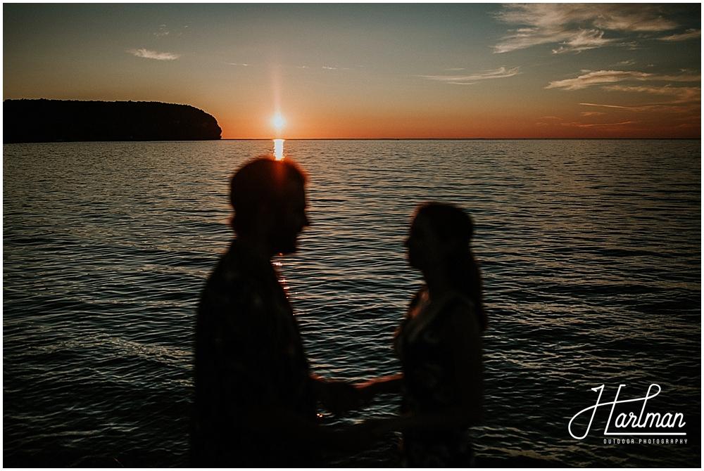 Egg Harbor Wisconsin wedding photographer