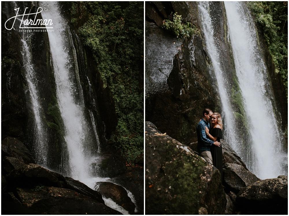 north carolina waterfall wedding _0042
