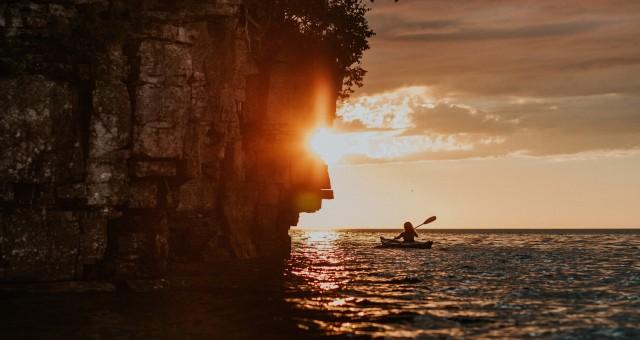 Door County, Wisconsin   Cabin & Kayaking