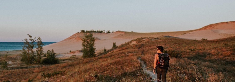 Michigan | Hiking Sleeping Bear Dunes