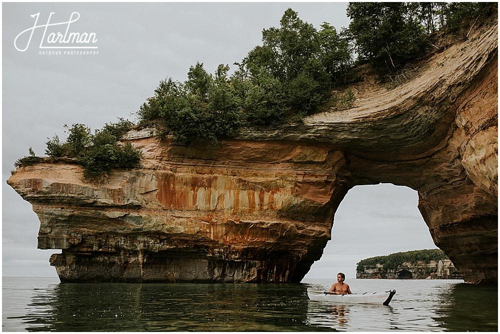 kayaking pictured rocks national lakeshore michigan _0032