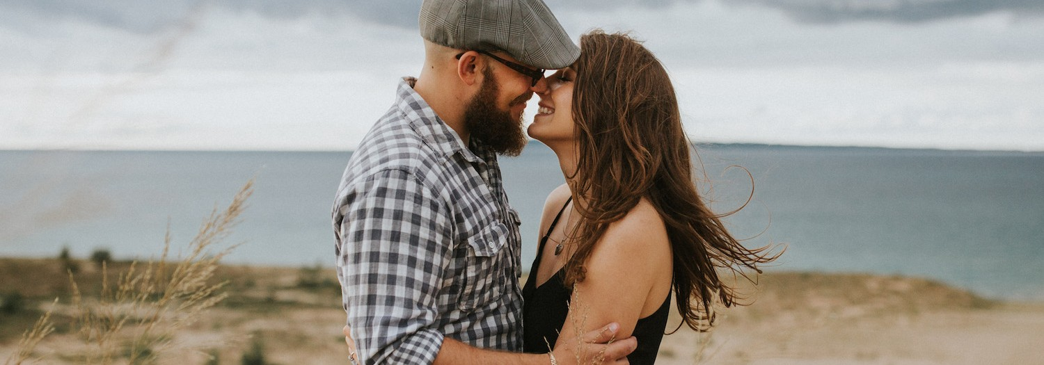 Torey + Stephen | Sleeping Bear Dunes, Michigan Engagement