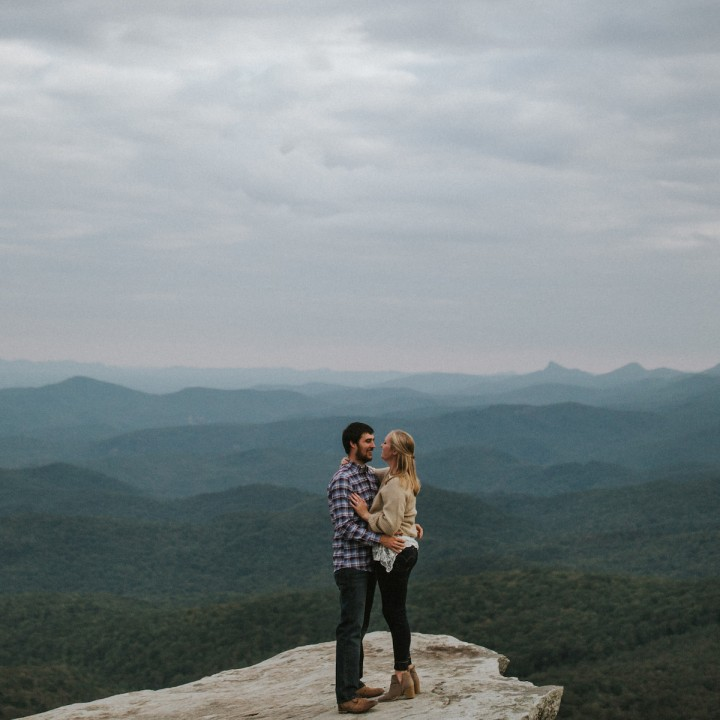 Brooke + Craig | Boone Mountain Engagement Session
