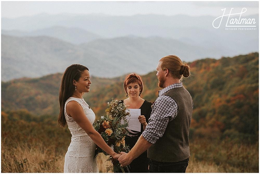 intimate wedding asheville _0015