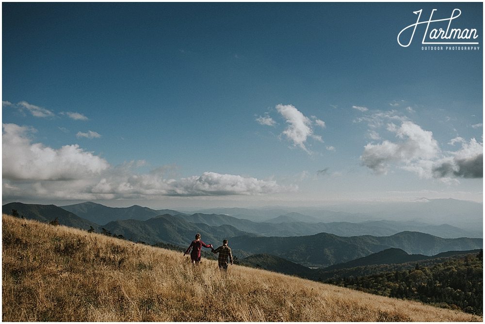 roan mountain engagement session _0001
