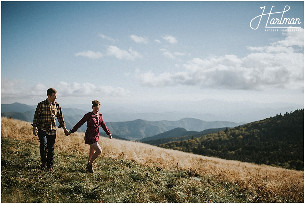 roan mountain tn engagement session 0003