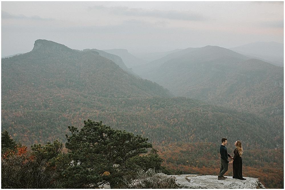 asheville indie mountain elopement