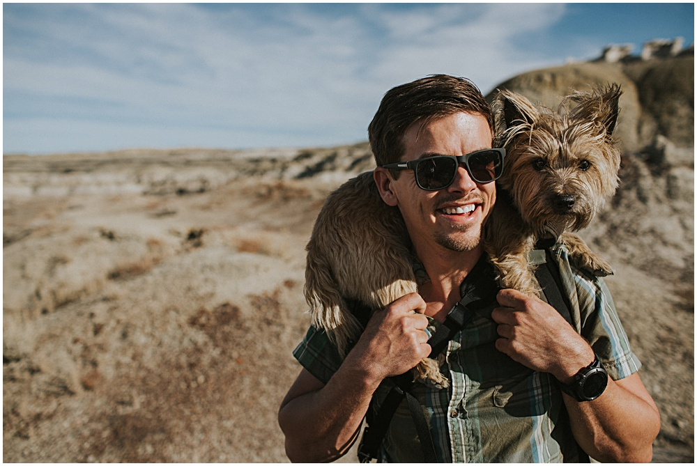 Dog Photographer Desert
