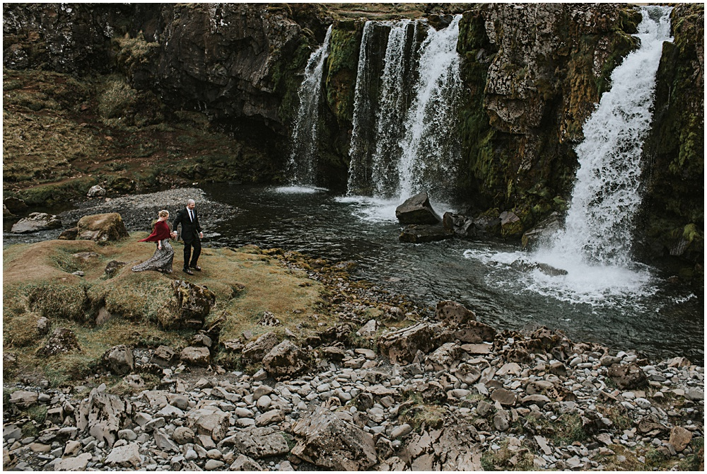Skogafoss Wedding Ceremony Waterfall