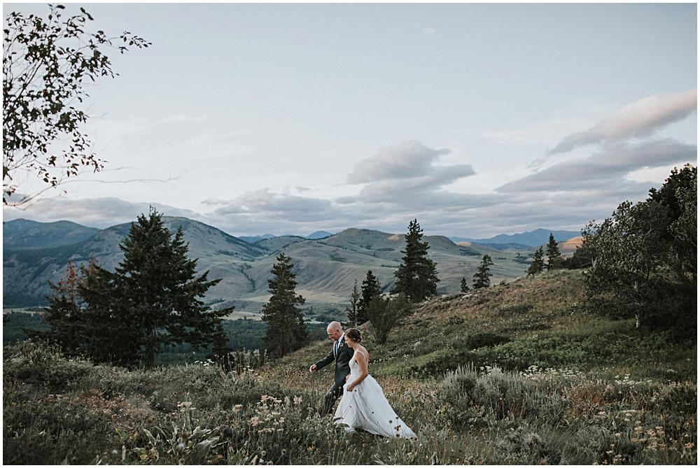 Cascades Washington Hike Wedding