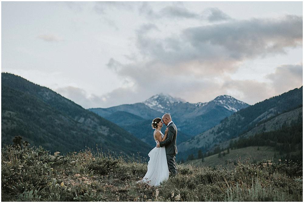 Cascades Washington Wedding