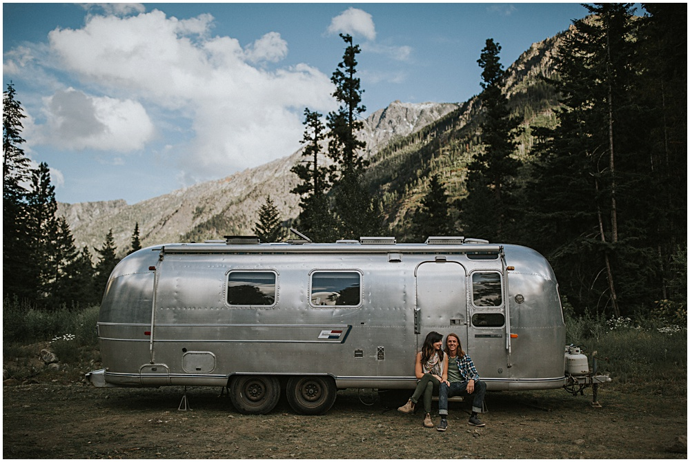 Engagement Session Camper Washington