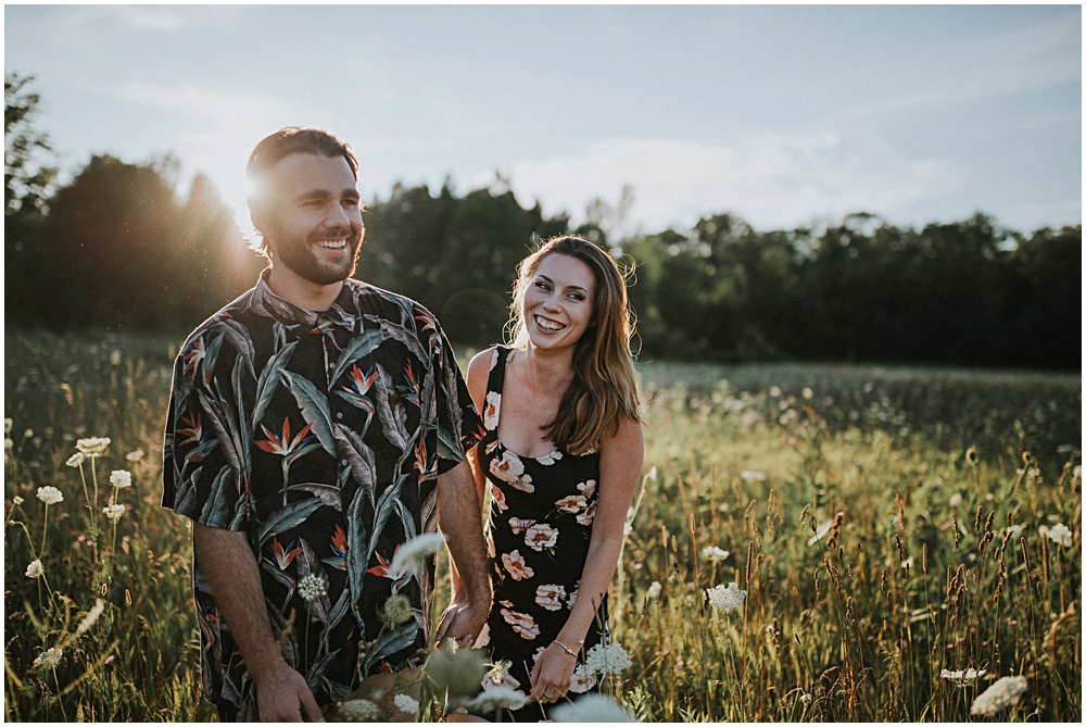 Wisconsin Fields Engagement Session