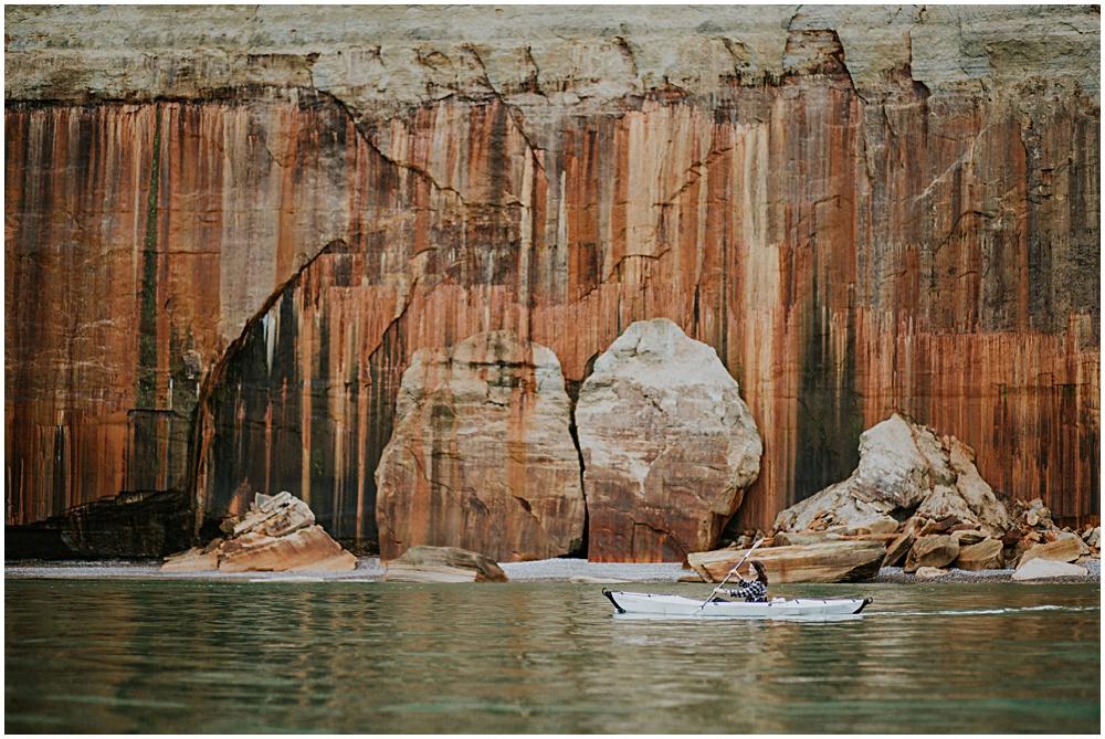 Pictured Rocks Kayaking Michigan