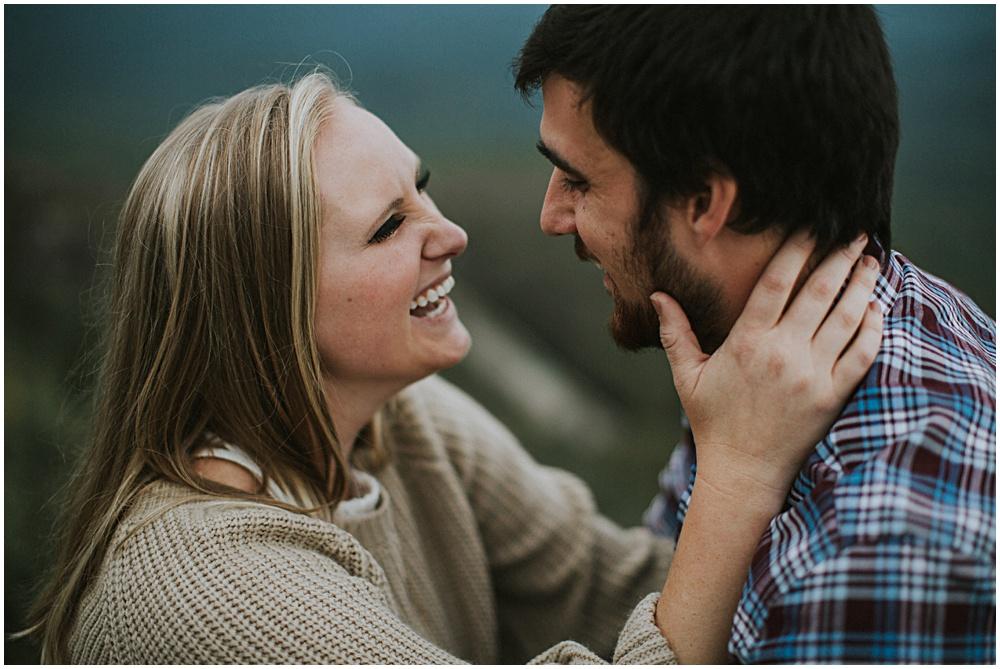 North Carolina Intimate Engagement Session