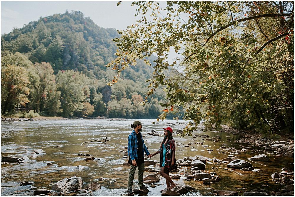 Hot Springs North Carolina Couples Shoot