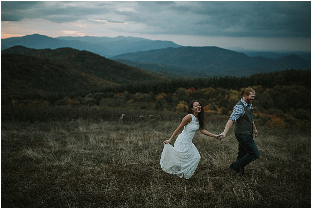 Elopement on Max Patch