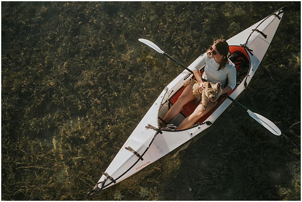 Oru Kayak Aerial View