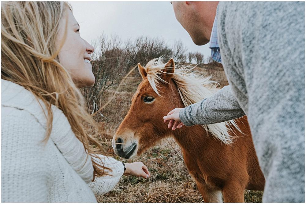 Wild Horses Grayson Engagement Session