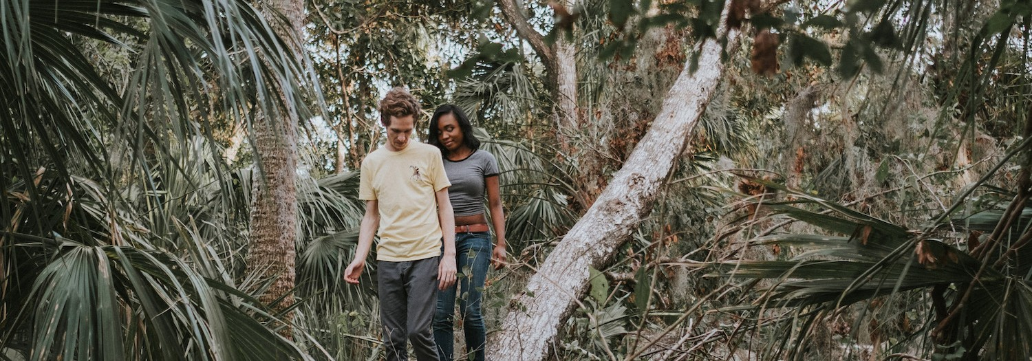 Josh + Geli | Florida Enchanted Forest Engagement