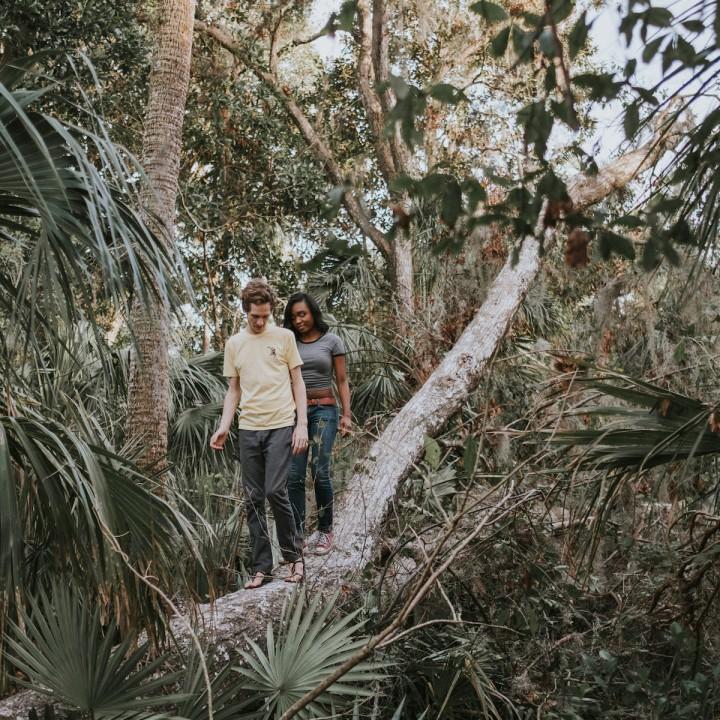 Josh + Geli | Florida Enchanted Forest Engagement