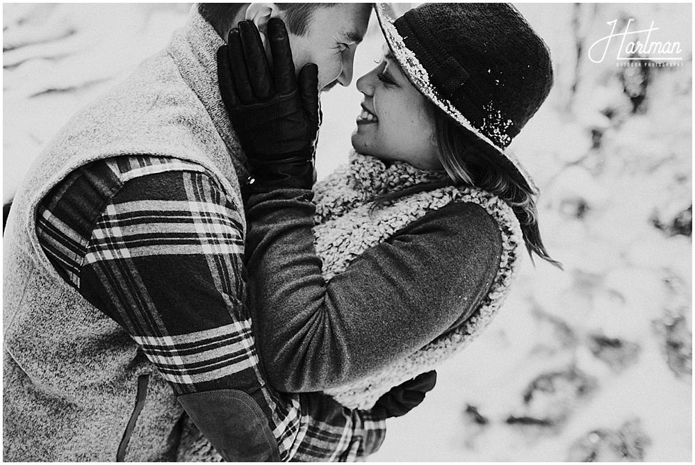 Virginia winter elopement