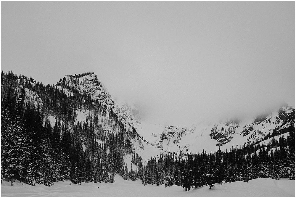 Colorado Rockies winter wedding