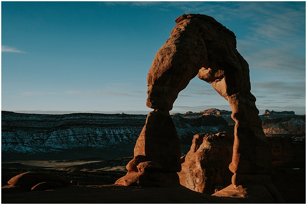 Arches National Park Engagement Session