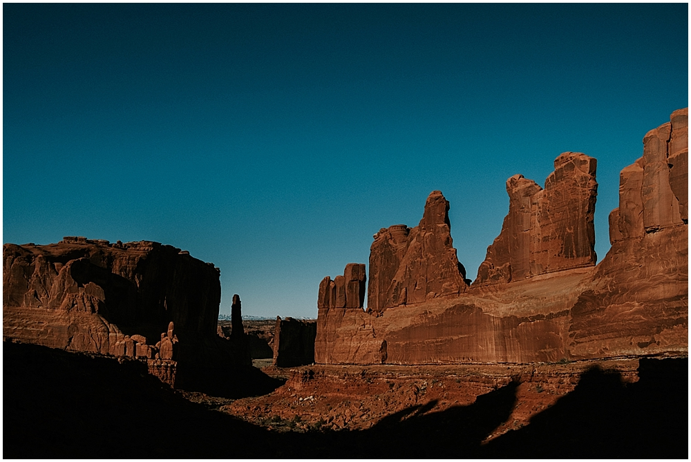 Elopement photographer Moab