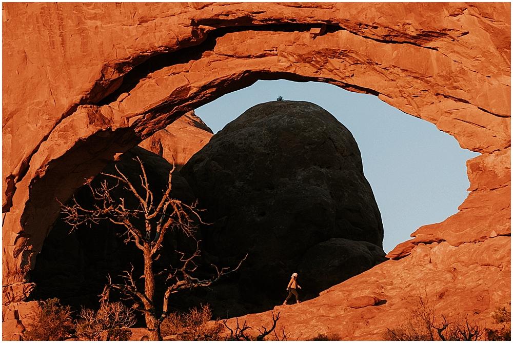 wedding arches national park