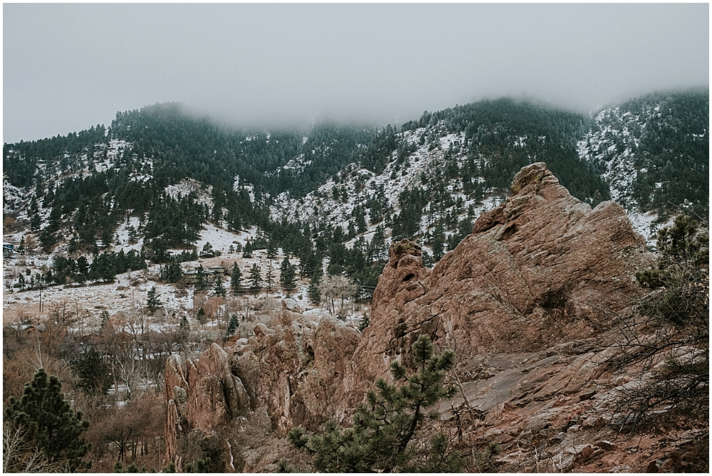 Boulder Colorado elopement location