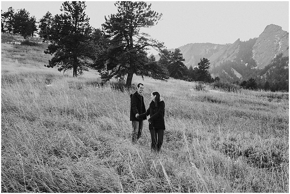 Boulder Flatirons Colorado Elopement