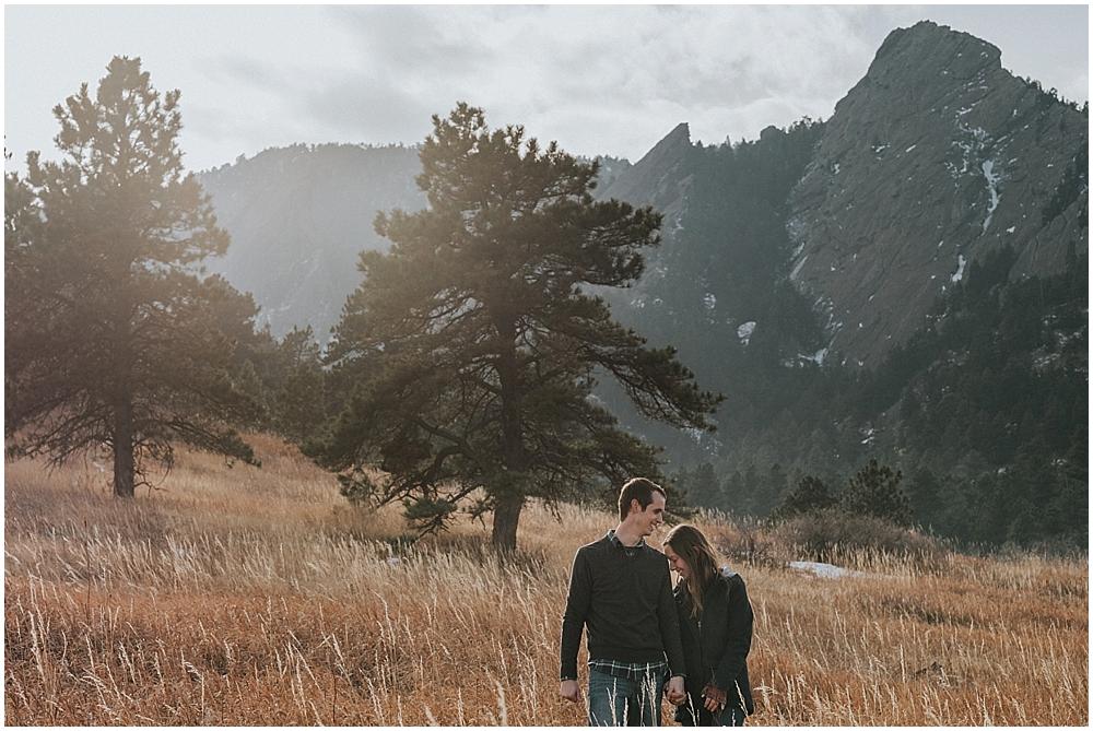 Elopement Boulder Flatirons