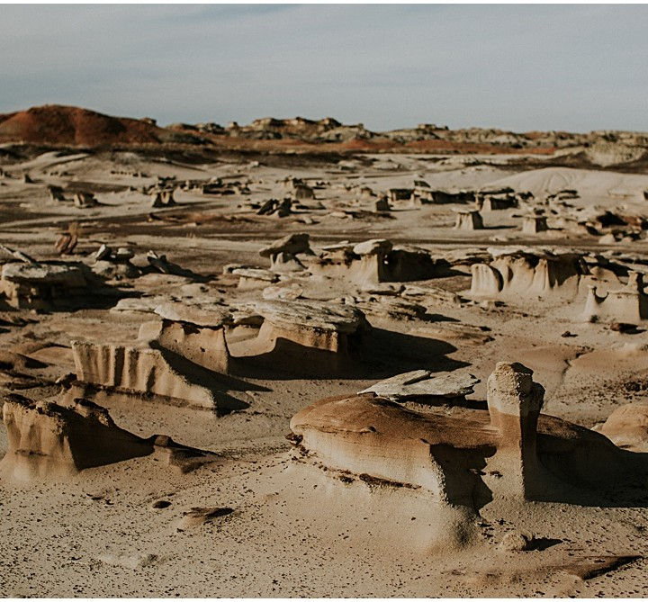 Slow Exposures and Arches   Bisti Badlands, New Mexico