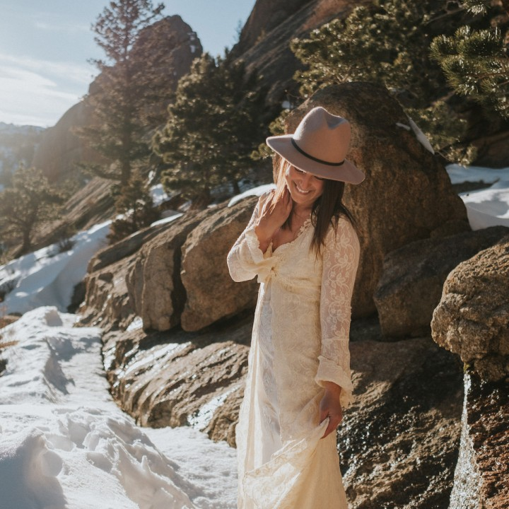 Laura | Bridals in Rocky Mountain National Park