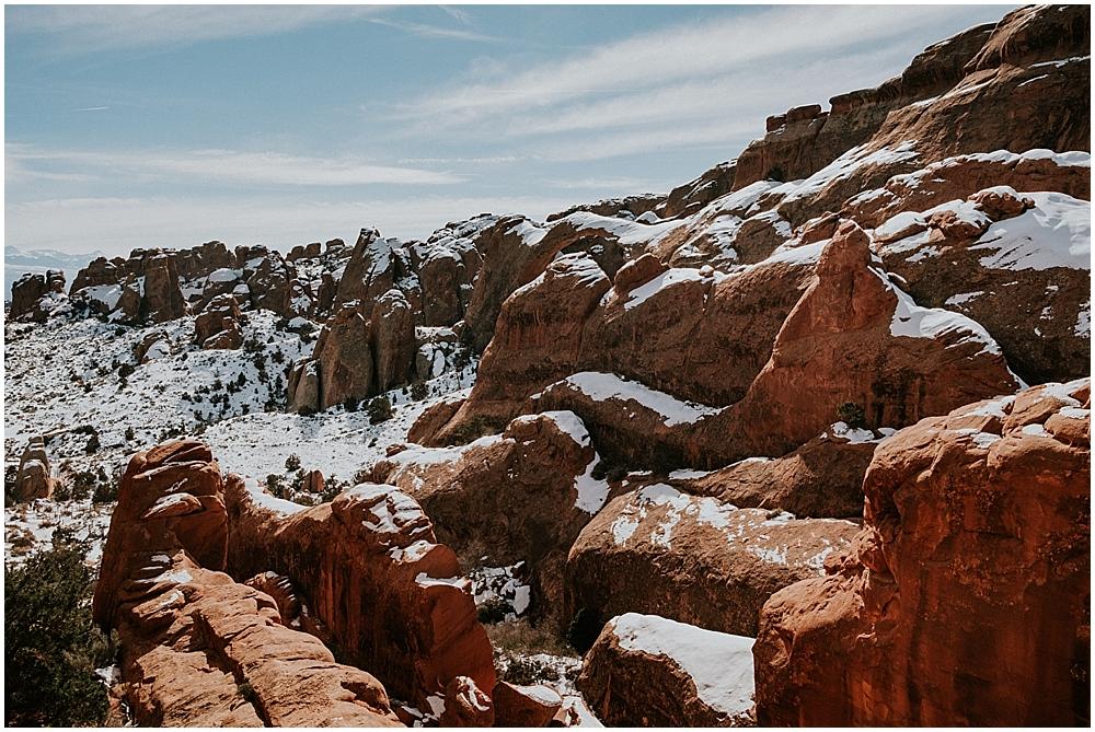 Adventure elopement in Moab Utah
