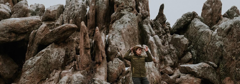 Colorado | Rock Scrambling at Settlers Park in Boulder