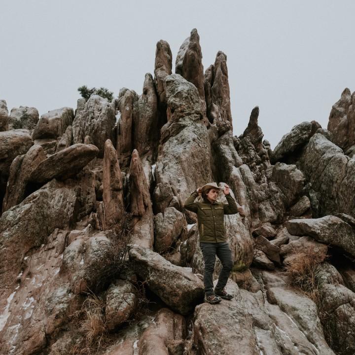 Colorado   Rock Scrambling at Settlers Park in Boulder