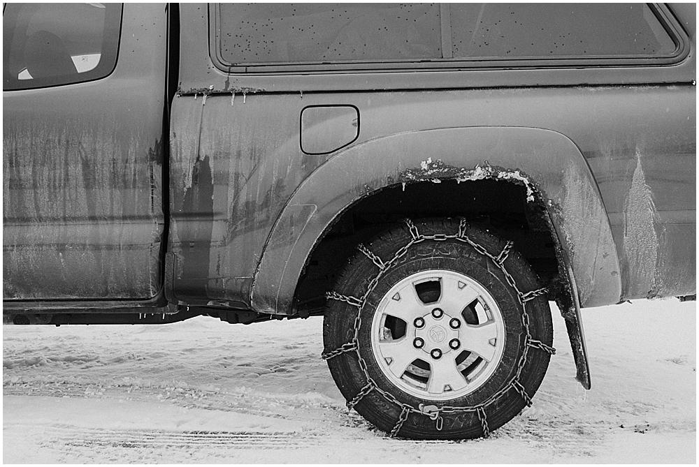 winter wedding Rocky Mountain National Park