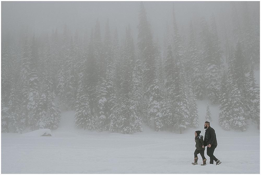 elopement in RMNP Colorado