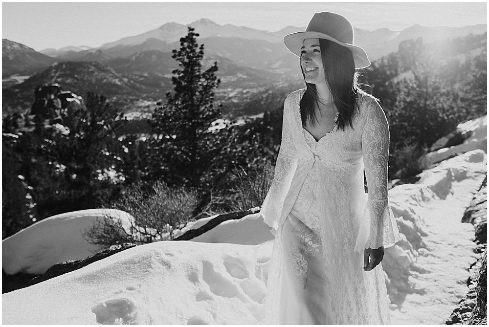 elopement in Colorado Rockies