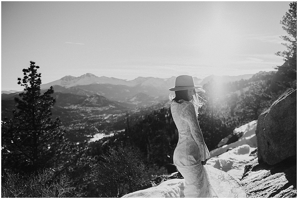 outdoor wedding Vail Colorado