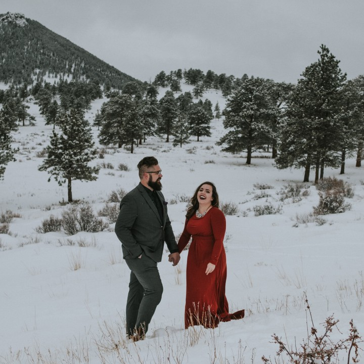 Thea + Ronny | Rocky Mountain Adventure at Dream Lake