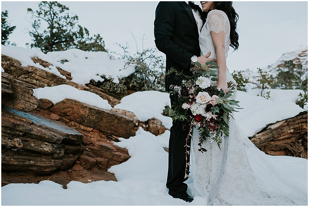 Zion National Park Spring Wedding