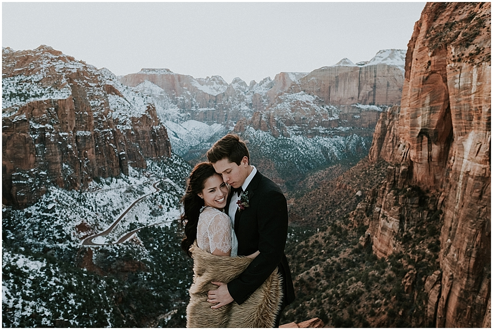 Wedding Zion National Park