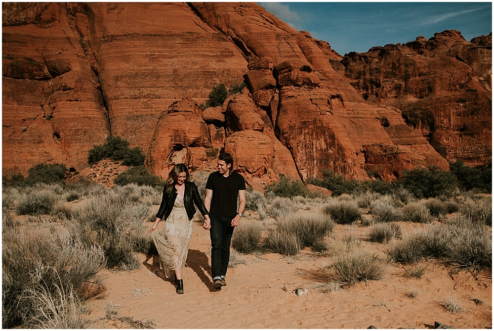Snow Canyon State Park engagement