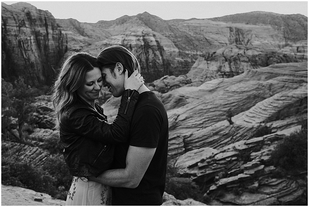 engagement session in Bryce Canyon Utah
